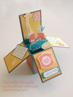 Card in a Box - Baby Shower copy