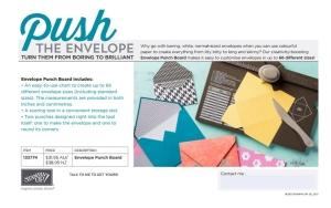 Envelope Punch Board Flyer