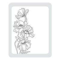 Flower Garden Textured Impressions Embossing Folder Die - Normally $13.95, now only $10.46