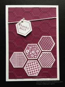 Thanks Much Hexagon Card